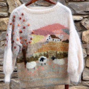 Sweaters - ISO: Susie Lee mohair landscape/scenic sweater